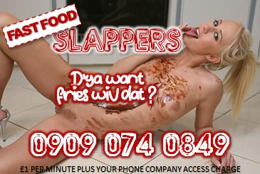 Fast Food Slappers 09090740849 Nympho Mobile Phone Sex Chat Lines
